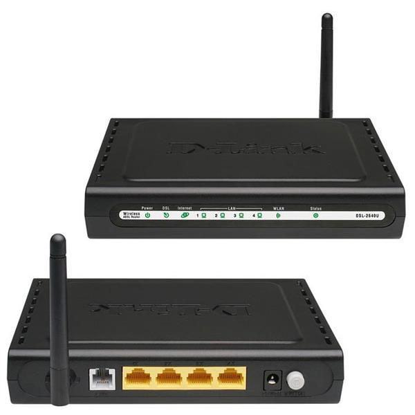 Настраиваем роутер D-Link DSL – 2640 специально для Ростелекома